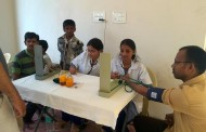Medical Camp at Bagh Lingam Pally Slum